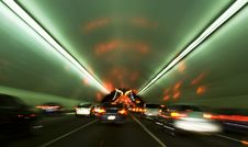Free Tunnel Motion Blur San Fransisco Stock Photos - 14551353