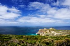 Free Sea View Of South Atlantic From Cape Point Royalty Free Stock Images - 14551439