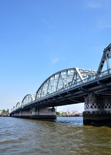 Free Krung Thon Bridge Royalty Free Stock Photo - 14551925