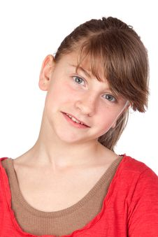 Free Adorable Preteen Girl Royalty Free Stock Photos - 14552148