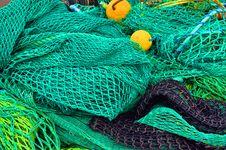 Free Fishing Nets Royalty Free Stock Image - 14552166