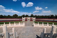 Free Chinese Architecture-Temple Of Heaven Stock Photo - 14552430