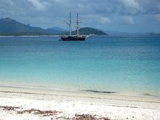 Free Tall Ship At Anchor Royalty Free Stock Images - 14552499