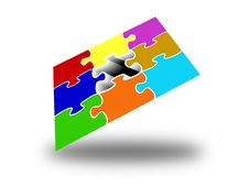 Free Missing Puzzle Piece Stock Photography - 14552502