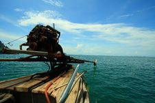 Free Krabi Fisherman Boat Royalty Free Stock Photography - 14552537