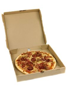 Free Takeaway Pizza Royalty Free Stock Image - 14552986