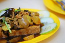 Chinese Style Vegetarian Delicacy Royalty Free Stock Image