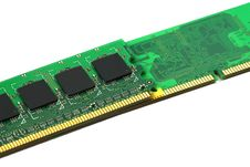 Computer Memory Stock Image