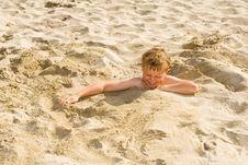 Free Child At The Beach Stock Photo - 14554440