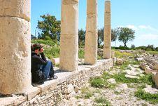 Amathus Ruins Royalty Free Stock Image