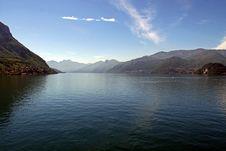 Free Mountains And Lake Como Royalty Free Stock Photo - 14555015
