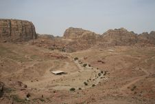 Free Landscape At The City Of Petra Royalty Free Stock Image - 14555166