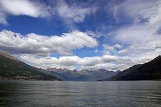 Free Treviso Mountains At Lake Como Royalty Free Stock Image - 14555276