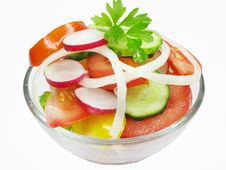 Free Fresh Vegetable Salad Stock Images - 14555334