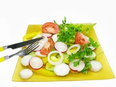 Free Fresh Vegetable Salad Stock Photography - 14555712