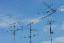 Free TV Antennas Stock Photos - 14556333