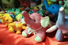 Elephant Dolls Royalty Free Stock Photography