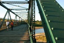 Free Green Iron Bridge Stock Photos - 14556433
