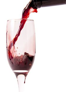 Free Red Wine Pouring Stock Photography - 14556972