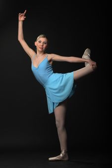Free Dancing Ballerina Stock Image - 14557071