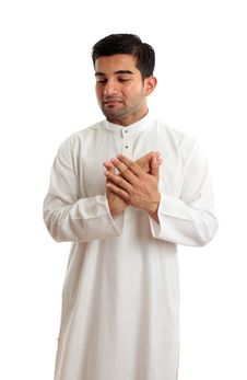 Free Worried Stressed Sad Arab Man Stock Photos - 14557133