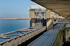 Free Oosterscheldekering, Delta Works, Netherlands Stock Images - 14557164