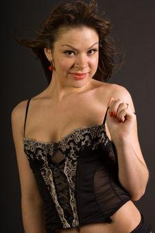 Free Sexy Glamorous Girl In Corset Stock Photos - 14557383