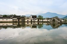 Free Chinese Water Village Stock Photos - 14558463