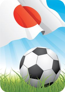World Soccer Championship 2010 - Japan Stock Image