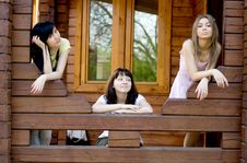 Free Three Female Friends Stock Photo - 14558800