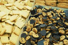 Free Close Up Of Cookies Royalty Free Stock Photography - 14559437