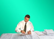 Free Engineer- Planner Stock Photography - 14559652