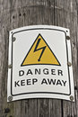Free Danger Sign Royalty Free Stock Photography - 14561997