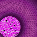 Free Red Disco Ball. Vector Illustration Royalty Free Stock Photo - 14564965