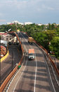 Free Trucks On Road Stock Photography - 14565572