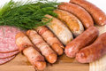 Free Grilled Sausages Stock Photography - 14568922