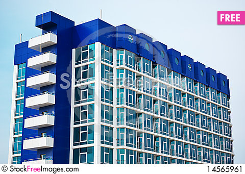 Free Abstraction And Geometry Building Stock Image - 14565961