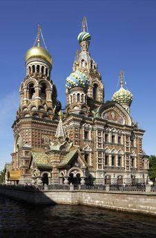 Free Church Of The Savior On The Spilt Blood Stock Photography - 14560252