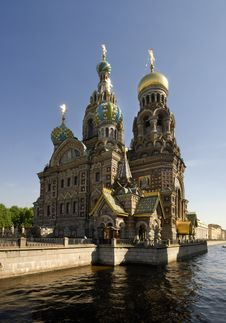 Free Church Of The Savior On The Spilt Blood Stock Photography - 14560292