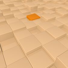 Free Cubes Background Royalty Free Stock Photos - 14560428