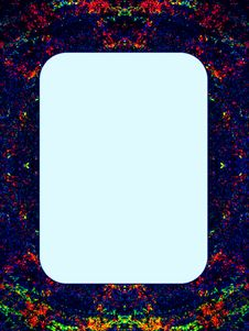 Free Colored Template Royalty Free Stock Photography - 14560647