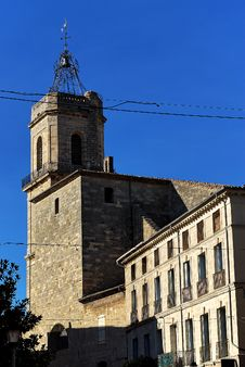 Free Church Of Pézenas (Fr) Royalty Free Stock Photo - 14560995
