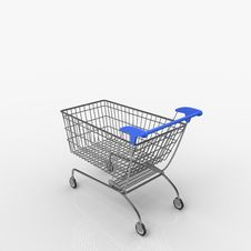 Free Shopping Cart / Trolley Stock Images - 14561694
