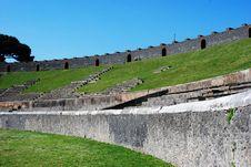Free The Amphiteatre Of Pompeii Royalty Free Stock Photos - 14561758