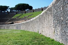 Free The Amphiteatre Of Pompeii Stock Image - 14561791