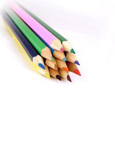 Free Colour Pencils Stock Photo - 14562410