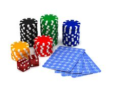 Free Gambling Royalty Free Stock Photography - 14562447
