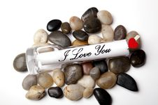 Free Message Of Love Royalty Free Stock Images - 14562679