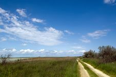 Free Rural Road Among The Field Stock Photos - 14564003