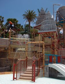 Free Playground In The Water Park Royalty Free Stock Photos - 14564358
